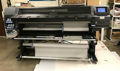 """Hp 360 64"""" Latex Wide Format Printer - Eco Friendly, Barely Used"""