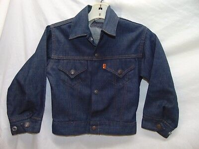 "**Vintage** Boy's Size Medium? (14.5"" Arm-Arm) Levi's Denim Jacket"