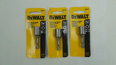 (Pack of 3) DW2227 7/16 X 1-7/8 Magnetic Nut Driver