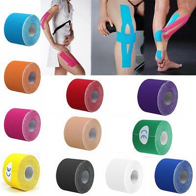Kinesiology Tape Waterproof Elastic Physio Therapy Muscle Sports Safety Bandage