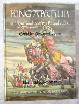 King Arthur and his Knights of the Round Table, Illustrated Junior Library 1949