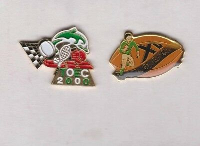 Pin's rugby TOEC (Toulouse Employé Club)