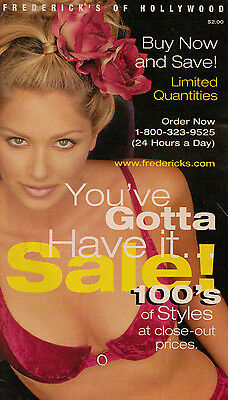 Frederick's of Hollywood 1998 Sale Catalog Women's Fashion