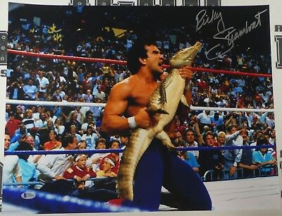 Ricky Steamboat Signed WWE 16x20 Photo BAS COA Pro Wrestling Picture Autograph 4