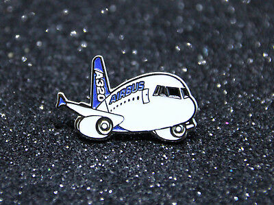 Pin CHUBBY pudgy Airbus A320 1 inch / 25mm metal Pin for Pilots Crew cute 320