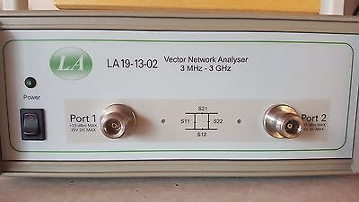 LA 13-19-02 Vector Network Analyzer 3 MHZ - 3 GHZ