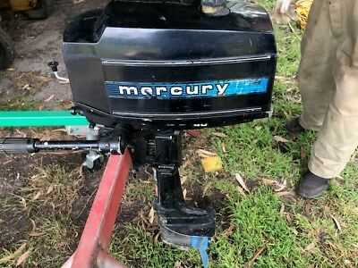 Mercury 4 HP Outboard Motor