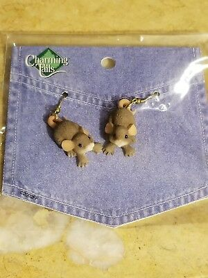 Charming Tails 80/115 Dangle Earrings New in Package