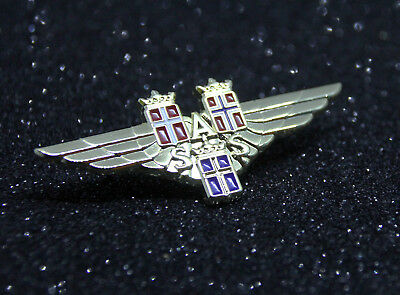 WING Pin SAS AIRLINES metal WINGS gold Pilot Airline Crew Scandinavian Airlines