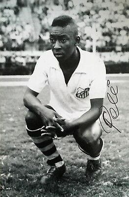 Pele ( Brasil / Brazil ) signed 12x8 photo Image B UACC Registered dealer RACC