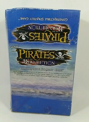 PIRATES of the Revolution NEW Factory Sealed Booster Box 36 packs WizKids OOP