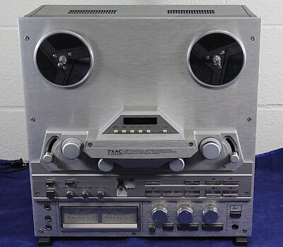 Teac X-2000R Reel to Reel Player Chrome Face Works