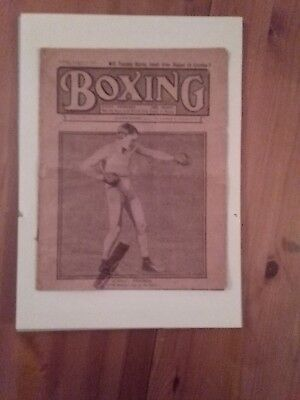 Boxing News Volume 1 Number 2 1909