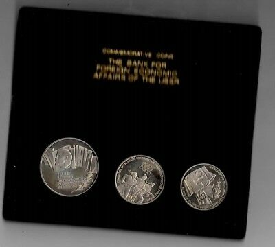 1987 Commemorative Coin Set 70Th Aniversary Of Russian Revolution Proof