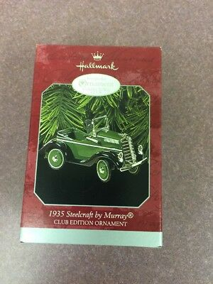 1998 Hallmark Ornament of 1935 Steelcraft by Murray Club Edition Christmas Tree
