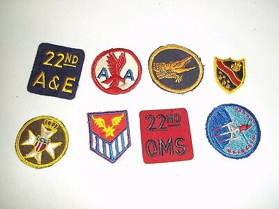 Wwi Wwii Korean War Vietnam Us Army Patch Lot #168
