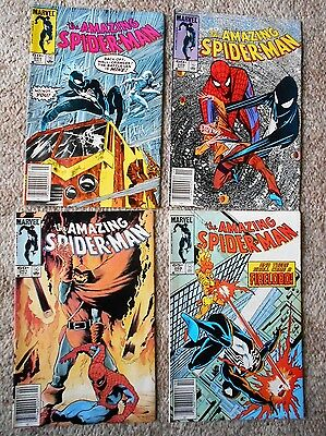 Amazing Spider-Man #254, #258, #261 & #269 Lot Of 4 Comics Free Shipping