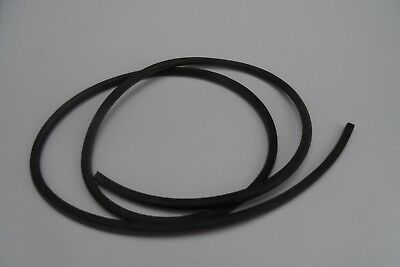 Weather Strip or seal NEOPRENE SOLID  Rubber , 5mm x 5mm  section, by the meter