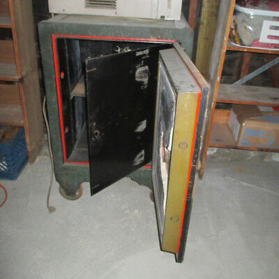 Very  Rare,  Old  Heavy  Thick  Steel  Strong / Fire  Box - Safe