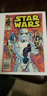 Star Wars #97 (1985) NM- HIGH GRADE 9.0 🔥9.2 LOW PRINT 🔥LATE LATER ISSUE MOVIE