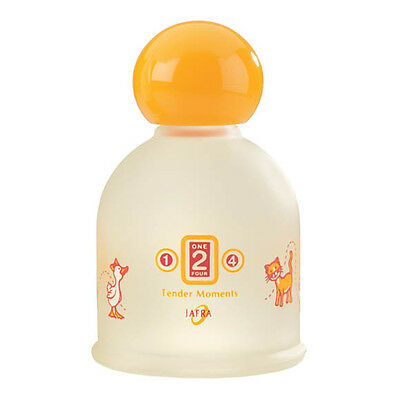 Jafra Tender Moments 1-2-4 Toddler Cologne 3.3 FL.OZ. For Ages 1 To 4 Years
