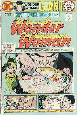 Wonder Woman Comic Book (1975) #217, Giant Sized! VF-! Early Grell Green Arrow!
