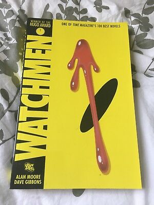 Watchmen Graphic Novel Comic Paperback Great Condition