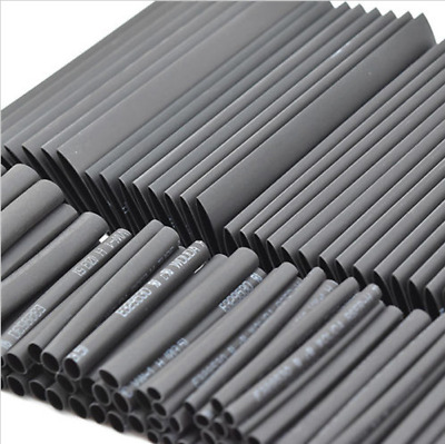 127Pcs 2:1 Heat Shrink Tubing Electrical Cable Assortment Tube Sleeve Wire Kit