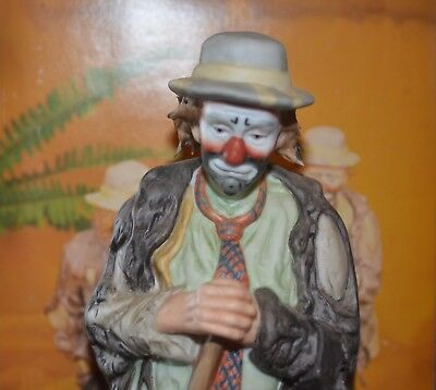 Flambro Emmett Kelly Jr. The Clown Prince Of Pantomine Signature Collection
