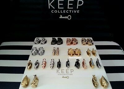 KEEP Collective Accent charms:  Pyramids, Arrowheads, lightening bolts & more