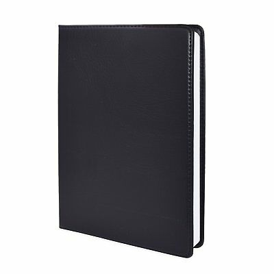 Handmade Leather Writing Journal Notebook, SAYEEC Classic Business Notebook line