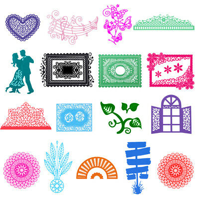 Metal Cutting Dies Stencil Scrapbook Paper Card Craft Embossing DIY Die-Cut Gift