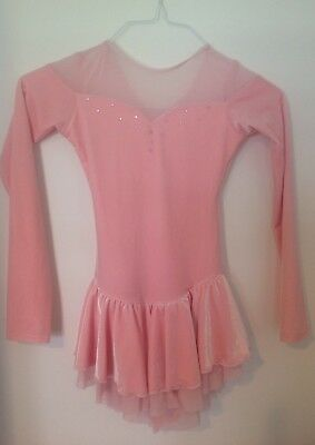 Chloe Noel Figure Skating Costume Dress Ice Skating Size Child Large Christmas