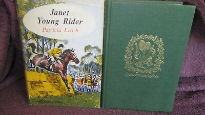 Janet Young RIDER~ Patricia Leitch Girls Sports Fiction 1963 HbDj UNread in MELB