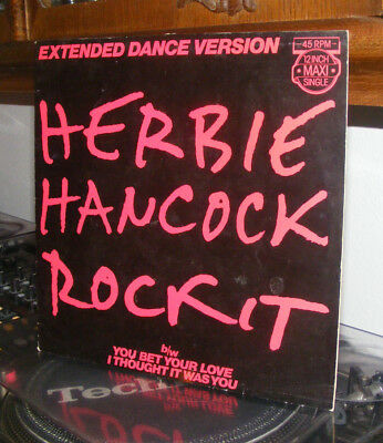Herbie Hancock - Rock it - Maxi LP - Vinyl - Schallplatte