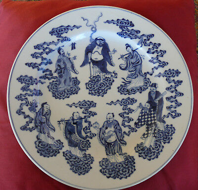 Daoguang period 1821 – 1850 Porcelain Plate Decorated with the Eight Immortals