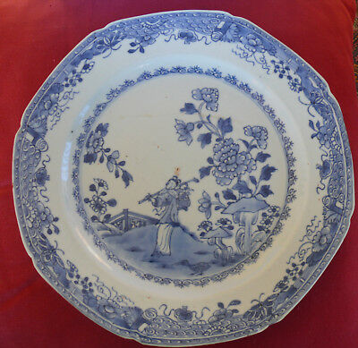 Chinese Porcelain 1780's Plate