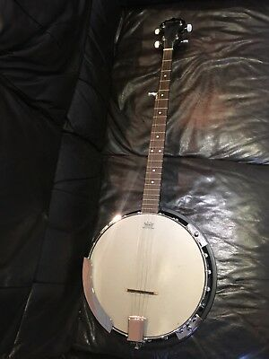 Delta Blue 5 String Banjo With Soft Case