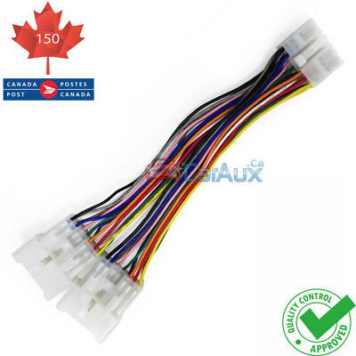 Lexus Toyota Y Cable Splitter 5+7Pin for Car Stereo Aux CD Changer
