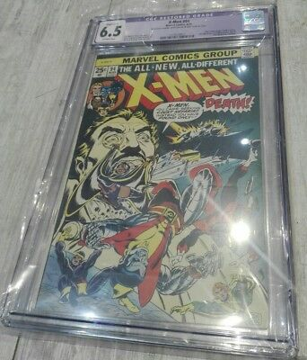 X-Men #94. CGC 6.5 Just Graded. First Issue of The New X-Men!! Ultra Key Issue!!