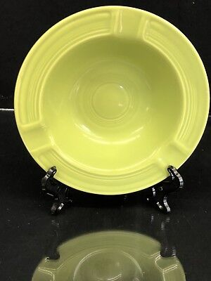 VINTAGE FIESTA WARE Ashtray in Chartreuse *Excellent*