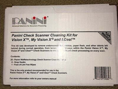 Panini Vision X/ My Vision X Cleaning Kit