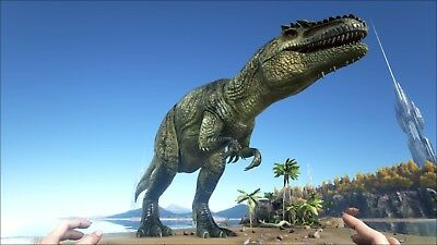 Giganotosaurus ( 1100 Dmg+ Leveled )- Ark Survival Evolved - PS4 - Official PvP