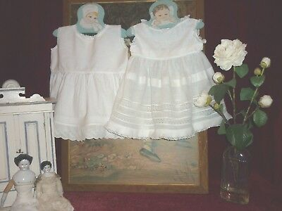 TWO Pretty Antique/Vintage Baby/Doll Petticoats Lace Trim GC,