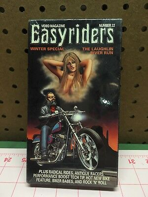 Easyriders - The Laughlin River Run Winter Sorcial (VHS, 1999) new sealed vhs