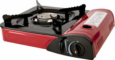 Trespass Gastro Portable Gas Stove For Camping Requires Butane