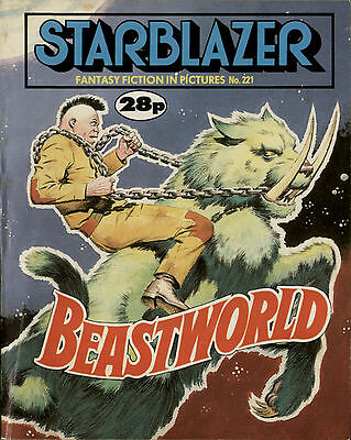 Beastworld,starblazer Fantasy Fiction In Pictures,no.221,1988,comic