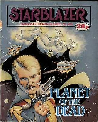 Planet Of The Dead,starblazer Fantasy Fiction In Pictures,no.208,1988,comic