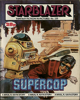 Supercop,starblazer Fantasy Fiction In Pictures,no.225,1988,comic