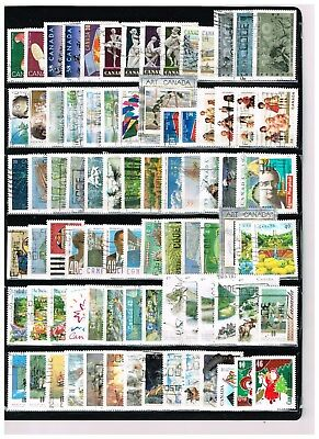 Canada  500   Stamps.  Lot #  5    (Used)